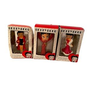 2009 Betty Boop Collectible Christmas Ornaments